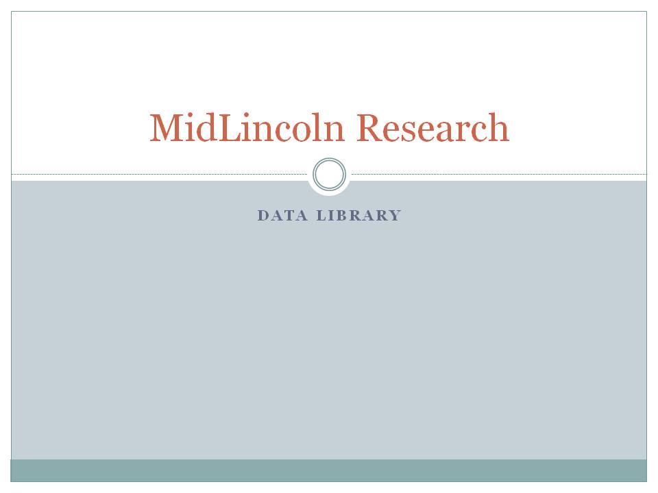 MidLincoln Data